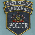 West Shore Regional Pennsylvania Police Patch