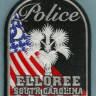 Elloree South Carolina Police Patch