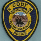 Cody Wyoming Police Patch
