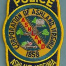 Ashland Virginia Police Patch