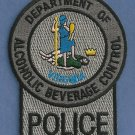 Virginia Alcoholic Beverage Control Enforcement Patch