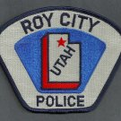 Roy City Utah Police Patch