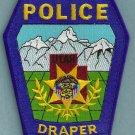 Draper Utah Police Patch