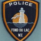 Fond Du Lac Wisconsin Police Patch