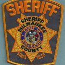 Milwaukee County Sheriff Wisconsin Police Patch