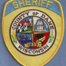 Dane County Sheriff Wisconsin Police Patch