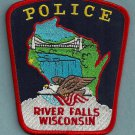 River Falls Wisconsin Police Patch