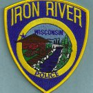 Iron River Wisconsin Police Patch