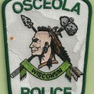 Osceola Wisconsin Police Patch Indian