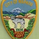 Wapato Washington Police Patch