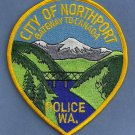 Northport Washington Police Patch