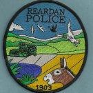 Reardan Washington Police Patch