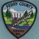 Ferry County Sheriff Washington Police Patch