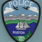 Ruston Washington Police Patch