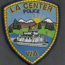 La Center Washington Police Patch