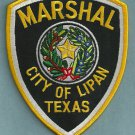 Lipan Marshal Texas Police Patch