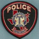 Texarkana Texas Police Patch