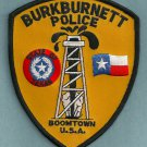 Burkburnett Texas Police Patch