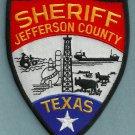 Jefferson County Sheriff Texas Police Patch
