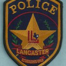 Lancaster Texas Police Patch