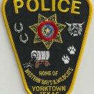 Yorktown Texas Police Patch