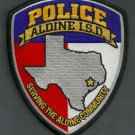 Aldine Independent School District Texas Police Patch
