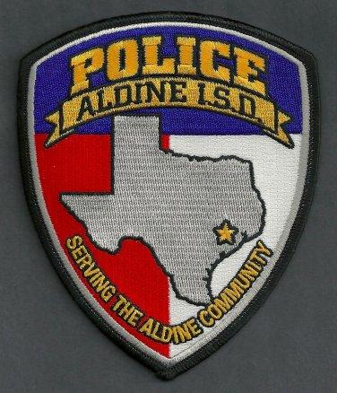 Aldine Independent School District Texas Police Patch