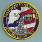 Philadelphia Pennsylvania Department of Homeland Security Police Patch