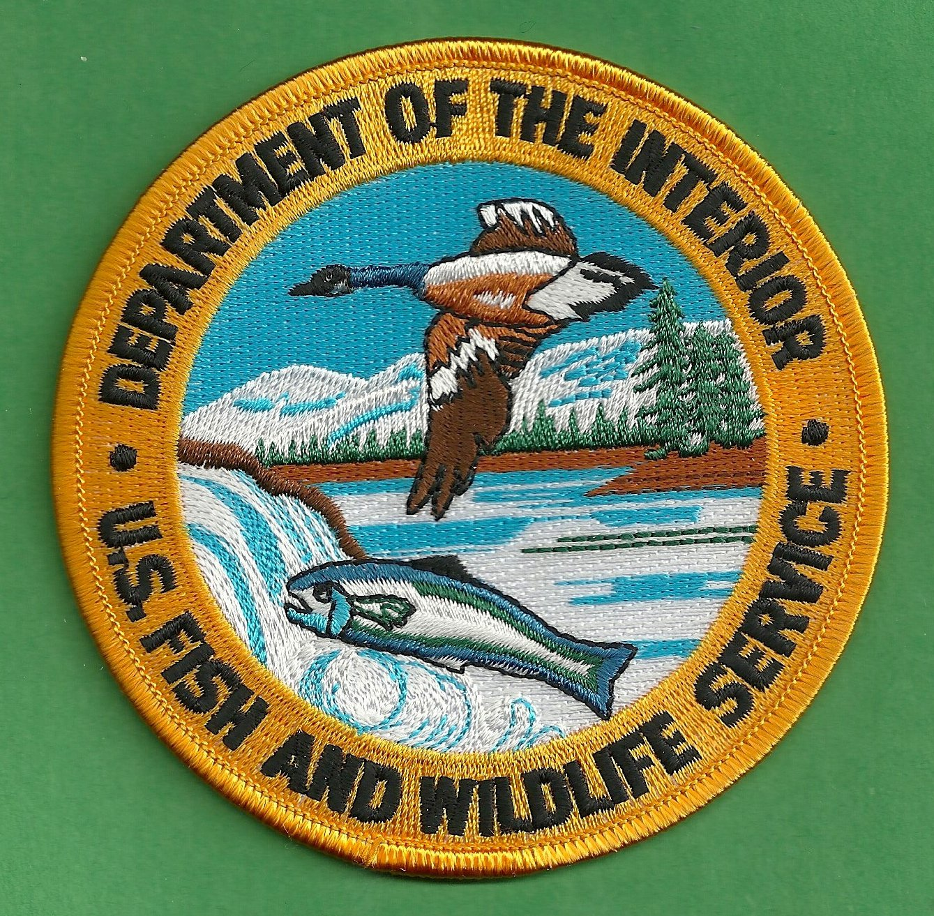 United States Fish Wildlife Service Police Patch