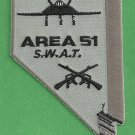 Area 51 SWAT Team Patch
