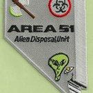 Area 51 Alien Disposal Team Patch