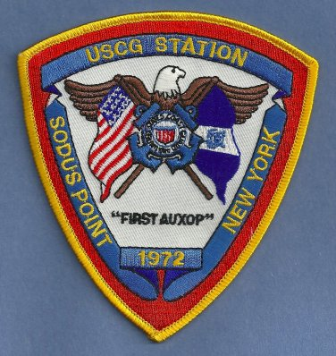 United States Coast Guard Sodus Point New York Station Patch