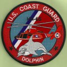 United States Coast Guard HH-65 Dolphin Helicopter Patch