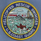 United States Coast Guard Cape May Rescue Swimmer Patch