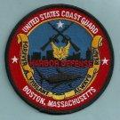 United States Coast Guard Boston Harbor Defense Patch