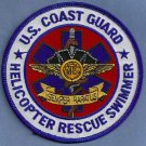United States Coast Guard Helicopter Rescue Swimmer Patch