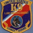 United States Coast Guard K-9 Enforcement Patch