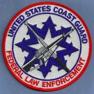 United States Coast Guard Federal Law Enforcement Patch