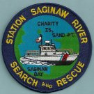 United States Coast Guard Saginaw River Michigan SAR Patch