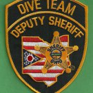 Ohio State Sheriff Police Dive Team Patch