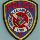 Mount Pleasant New York Police Dive Team Patch