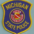 Michigan State Police Dive Team Patch