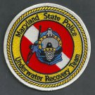 Maryland State Police Dive Team Patch