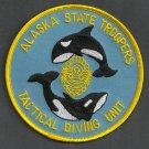 Alaska State Trooper Police Dive Team Patch