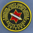 Maricopa County Sheriff Arizona Police Dive Team Patch