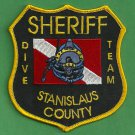 Stanislaus County Sheriff California Police Dive Team Patch