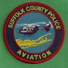 Suffolk County Sheriff New York Helicopter Air Unit Police Patch