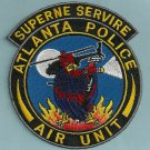 Atlanta Georgia Police Helicopter Air Unit Patch