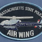 Massachusetts State Police Helicopter Air Unit Patch