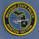 Michigan State Patrol Helicopter Air Unit Patch